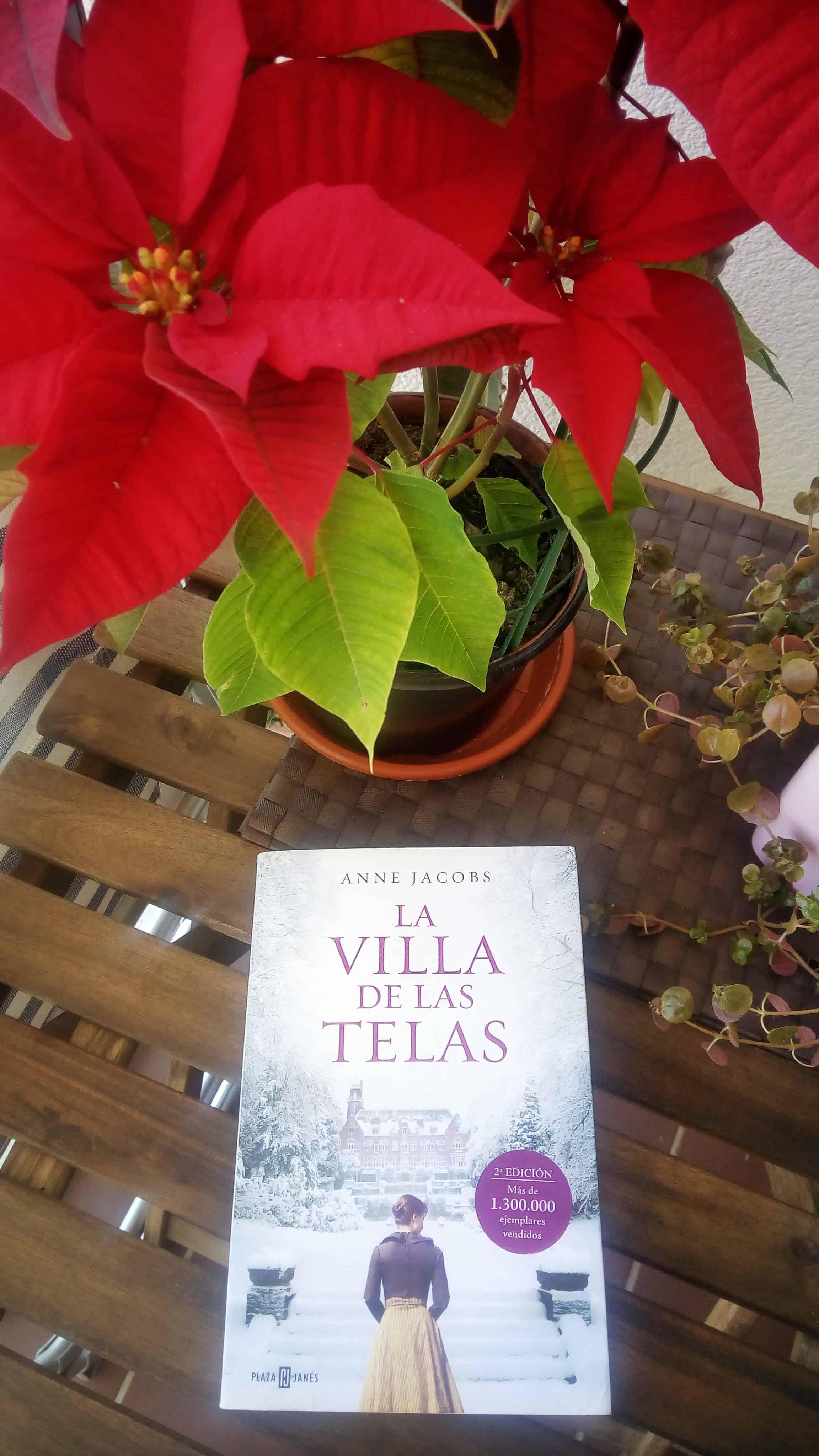 LA VILLA DE LAS TELAS, de Anne Jacobs.