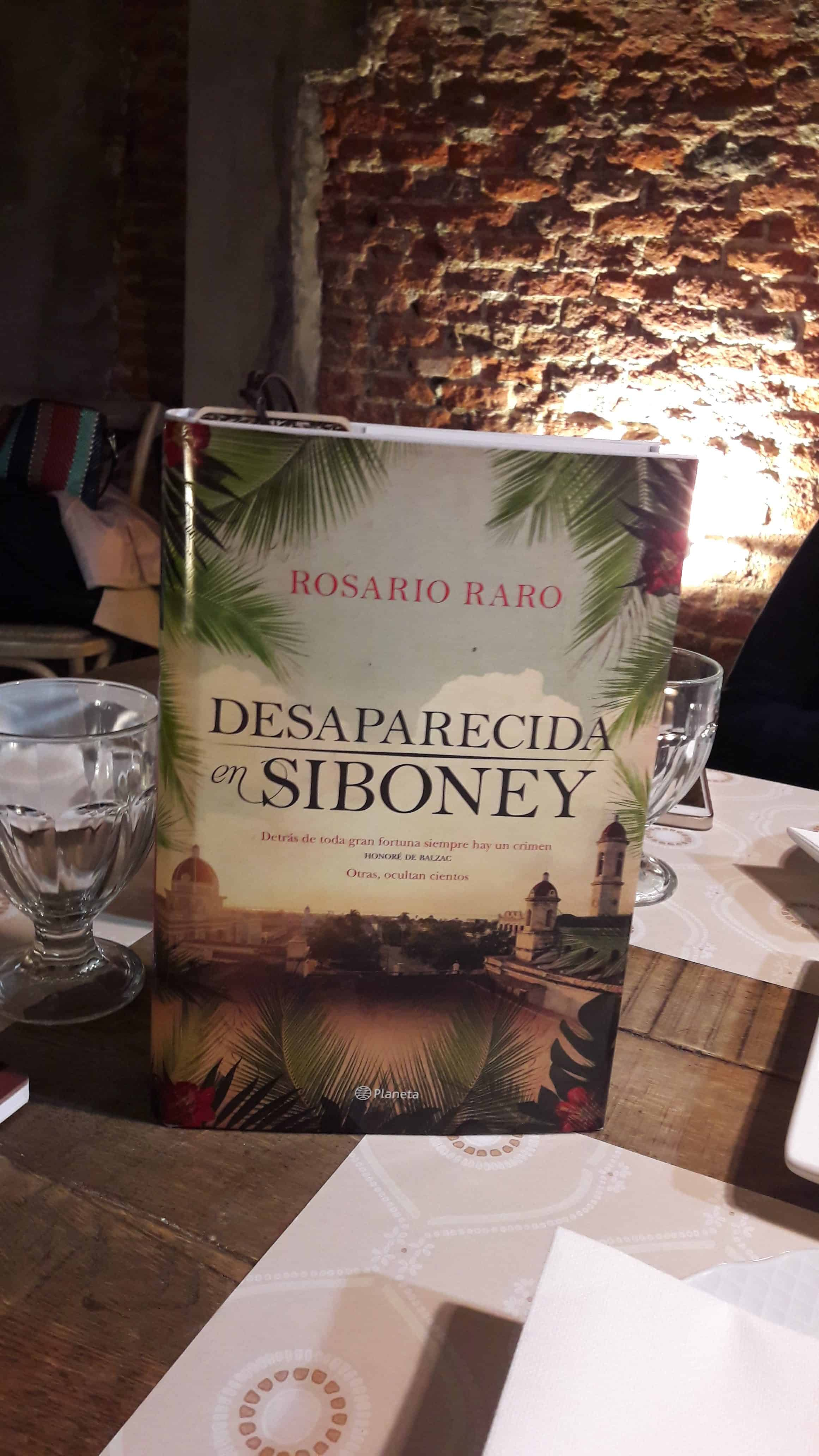 «DESAPARECIDA EN SIBONEY», de Rosario Raro