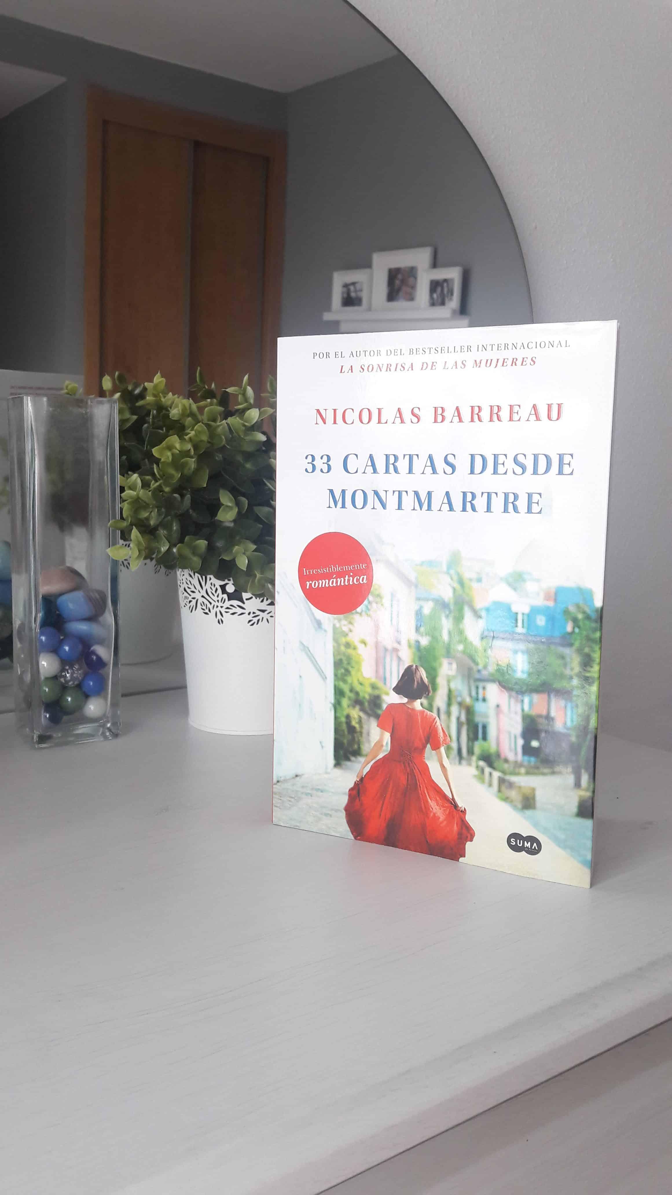 «33 cartas desde Montmartre», de Nicolas Barreau