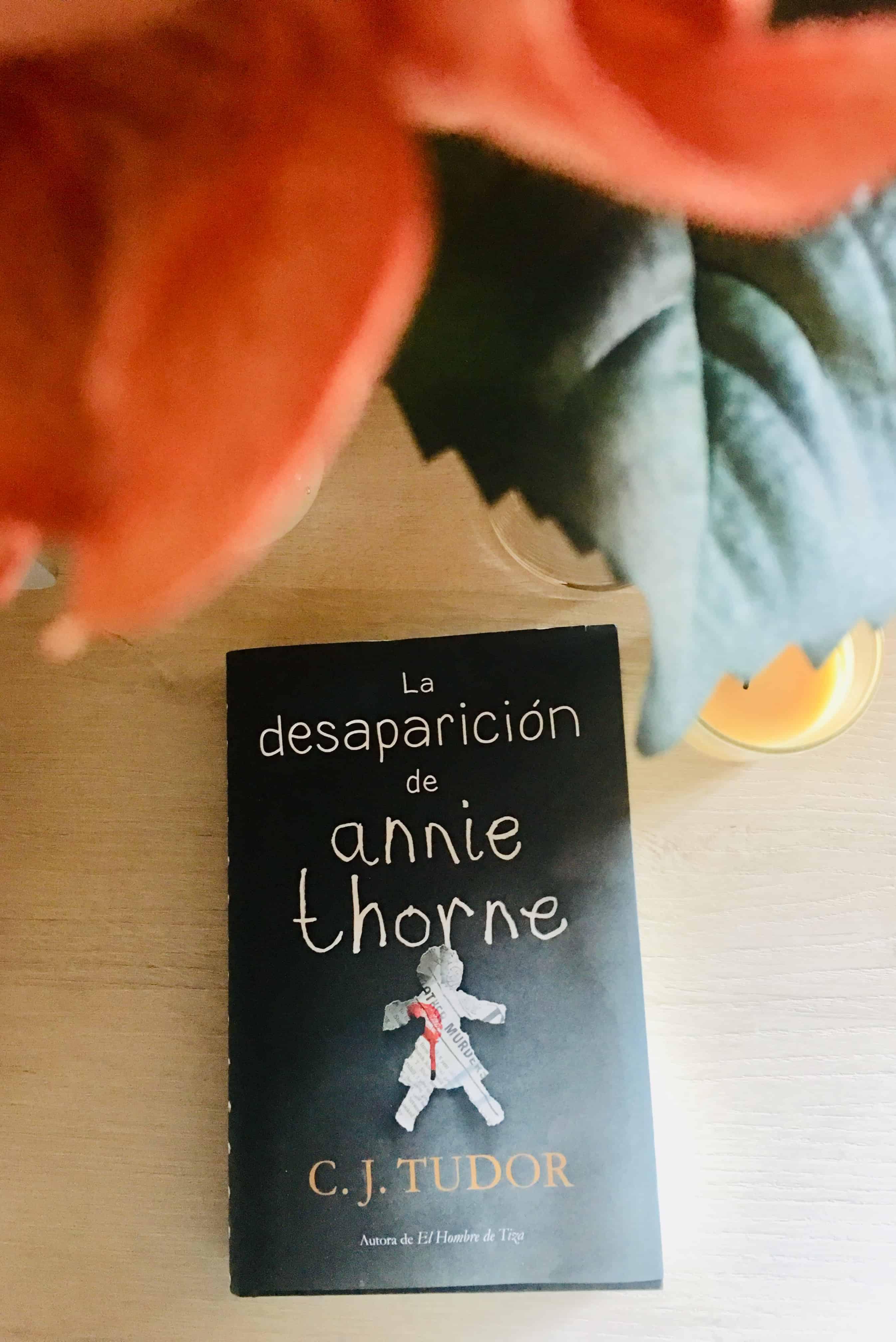 La desaparición de Annie Thorne , C.J. TUDOR