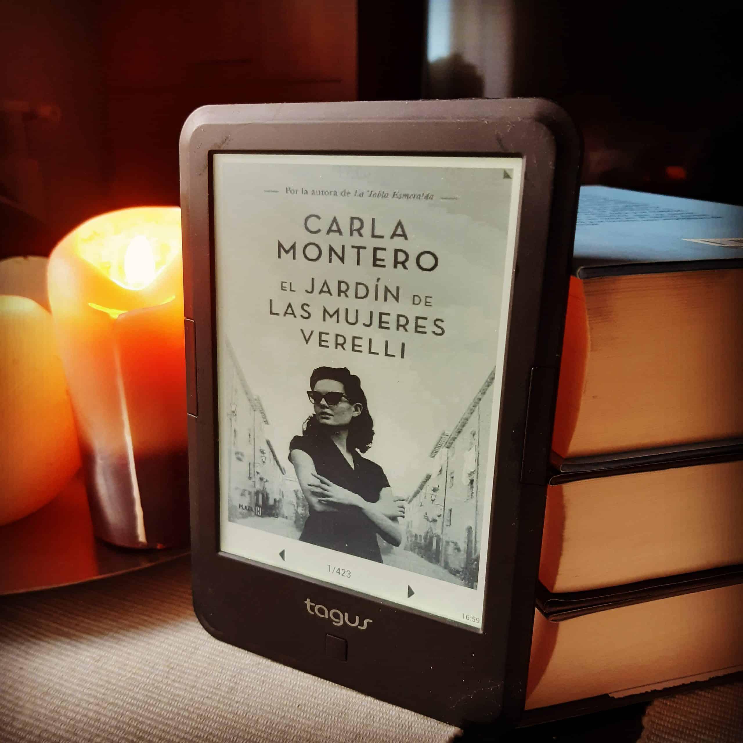 «EL JARDIN DE LAS MUJERES VERELLI», de Carla Montero
