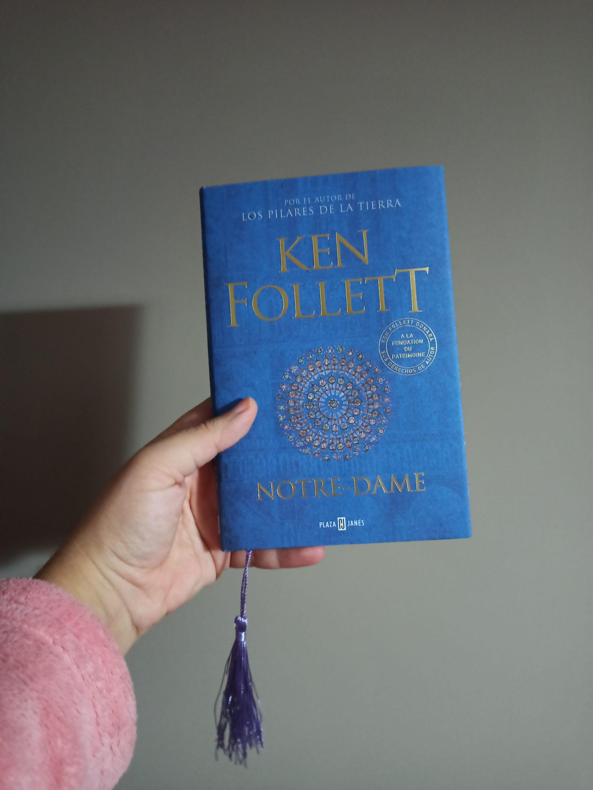 NOTRE-DAME, de Ken Follett.