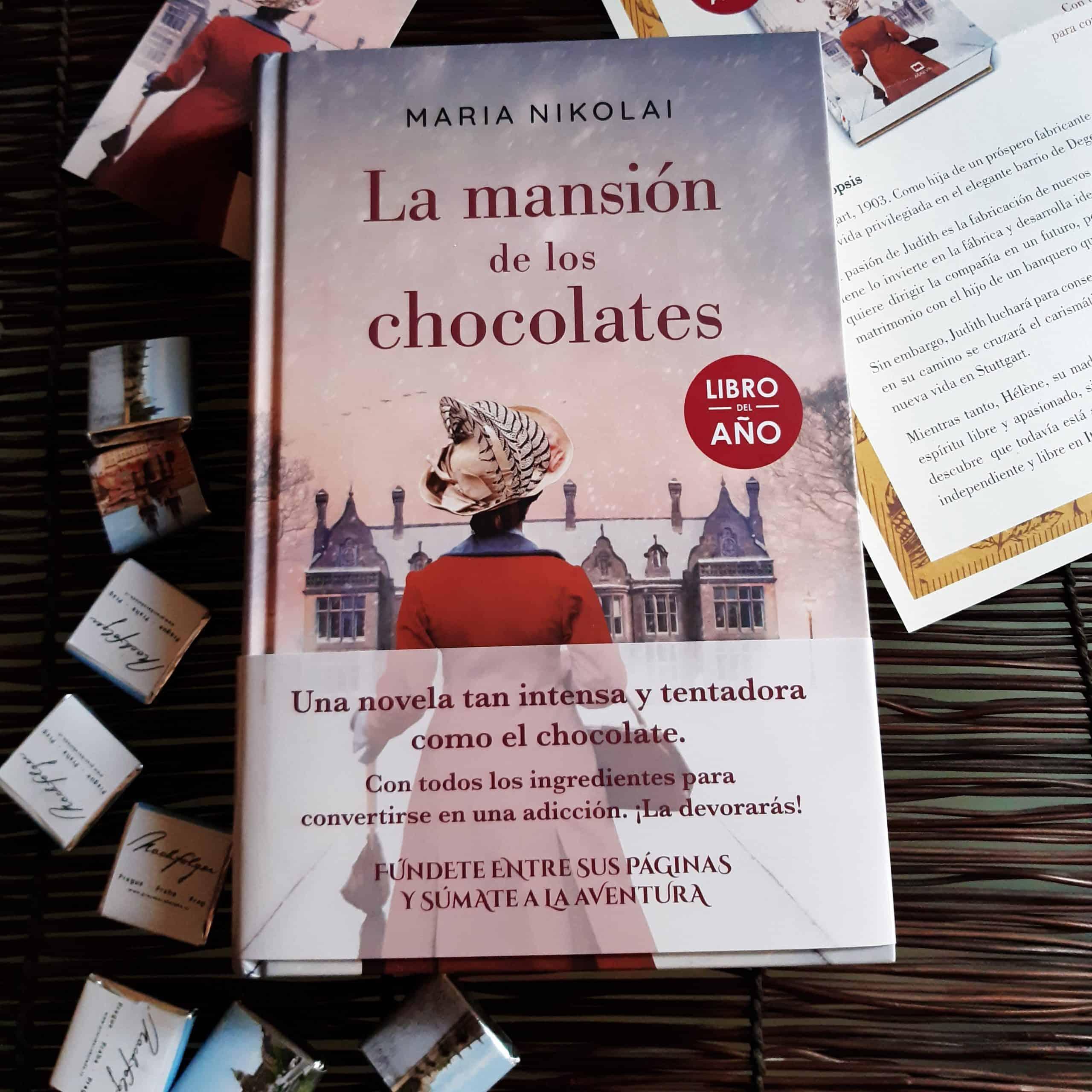 LA MANSIÓN DE LOS CHOCOLATES, de Maria Nikolai