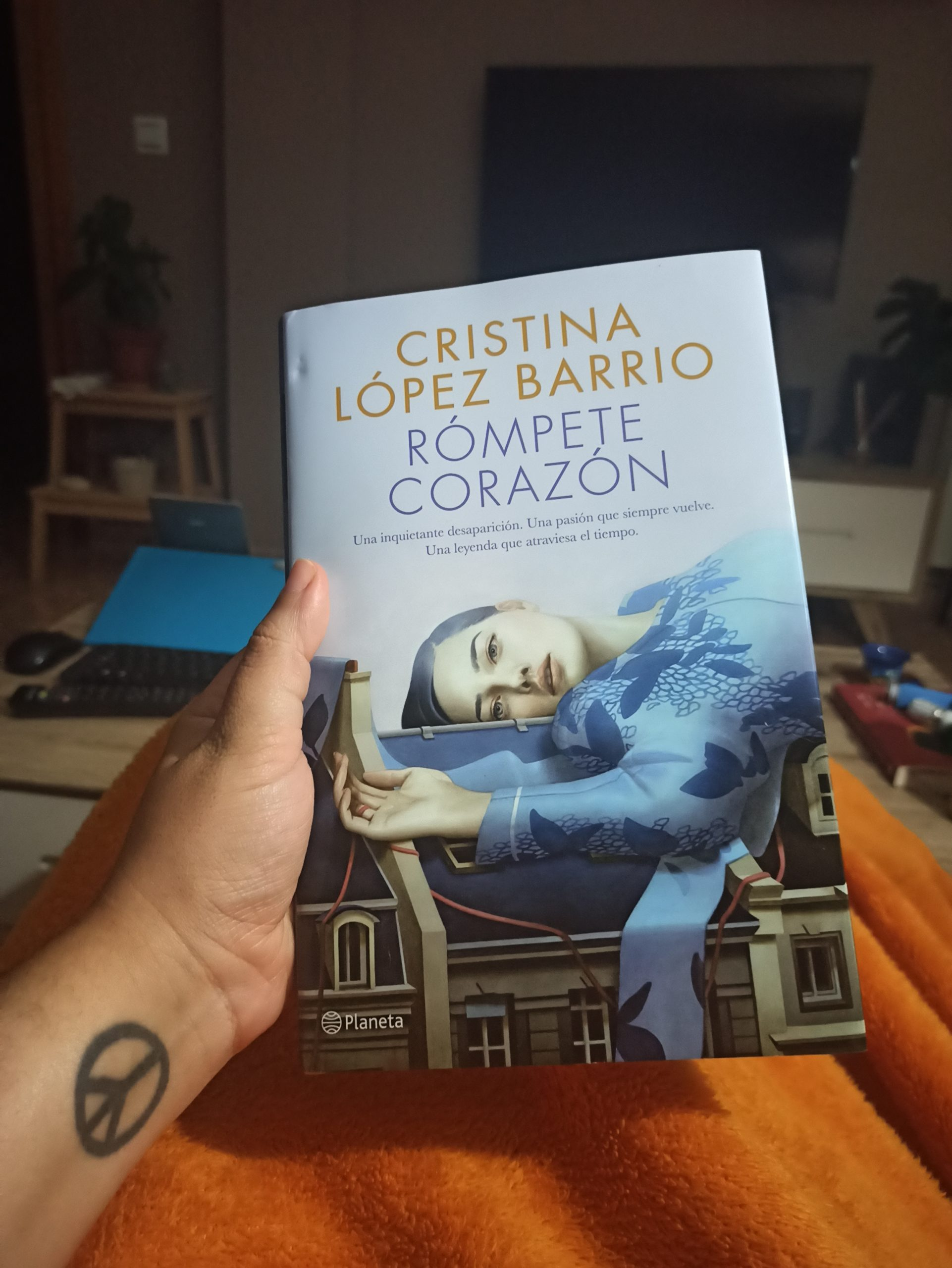 RÓMPETE CORAZÓN, de Cristina López Barrios.