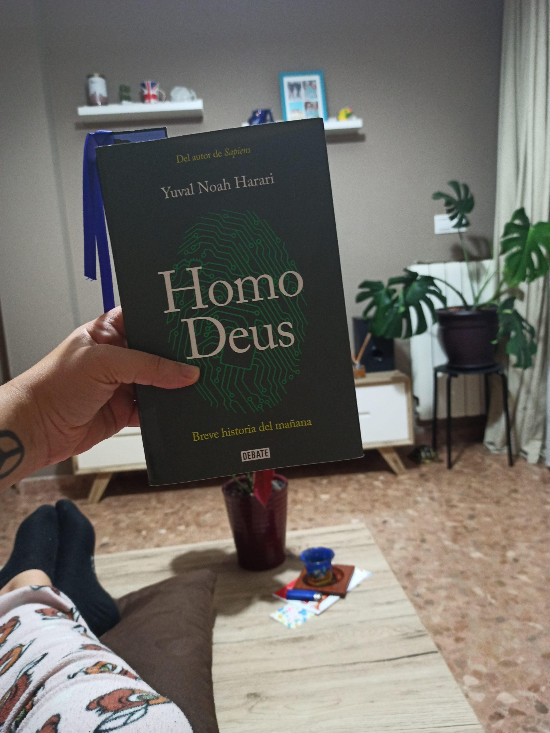 HOMO DEUS: Breve historia del mañana, de Yuval Noah Harari.