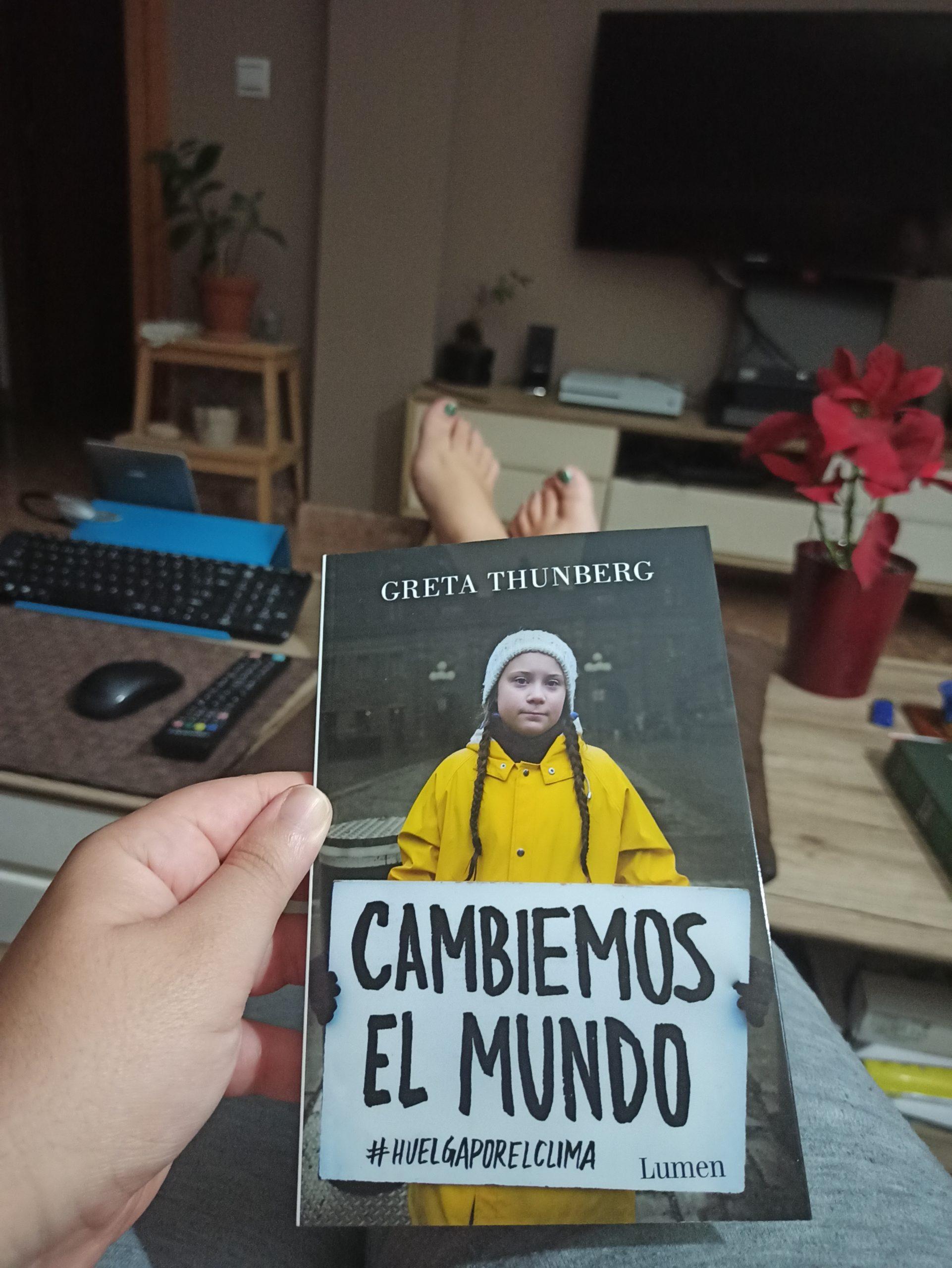CAMBIEMOS EL MUNDO, de Greta Thunberg.