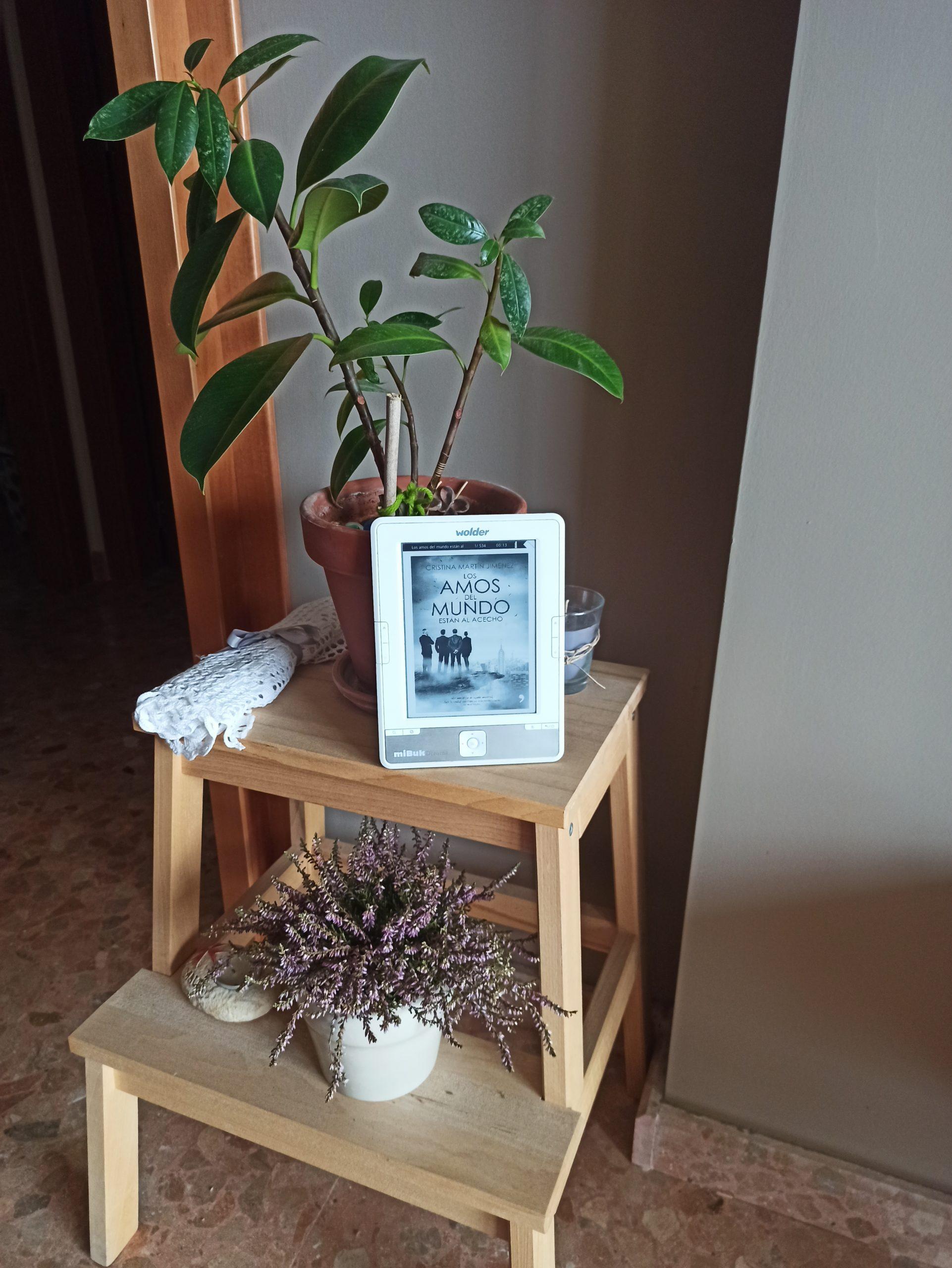 LOS AMOS DEL MUNDO ESTÁN AL ACECHO, de Cristina Martín Jiménez.