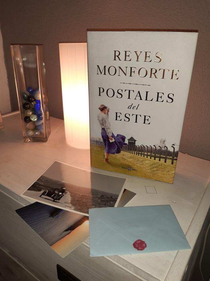 «POSTALES DEL ESTE», de Reyes Monforte