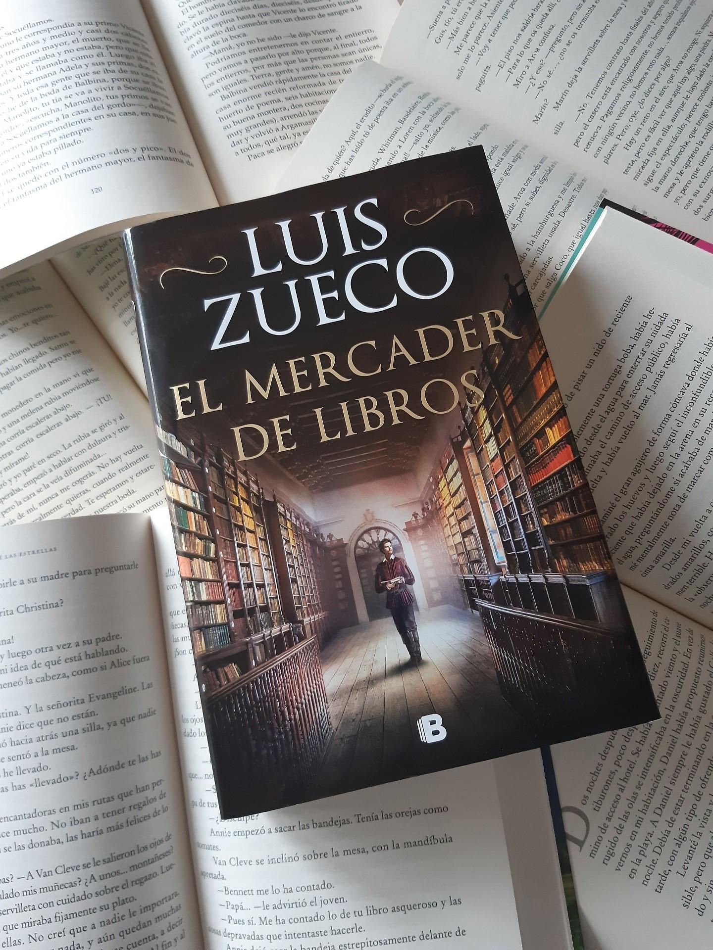 «EL MERCADER DE LIBROS», de Luis Zueco