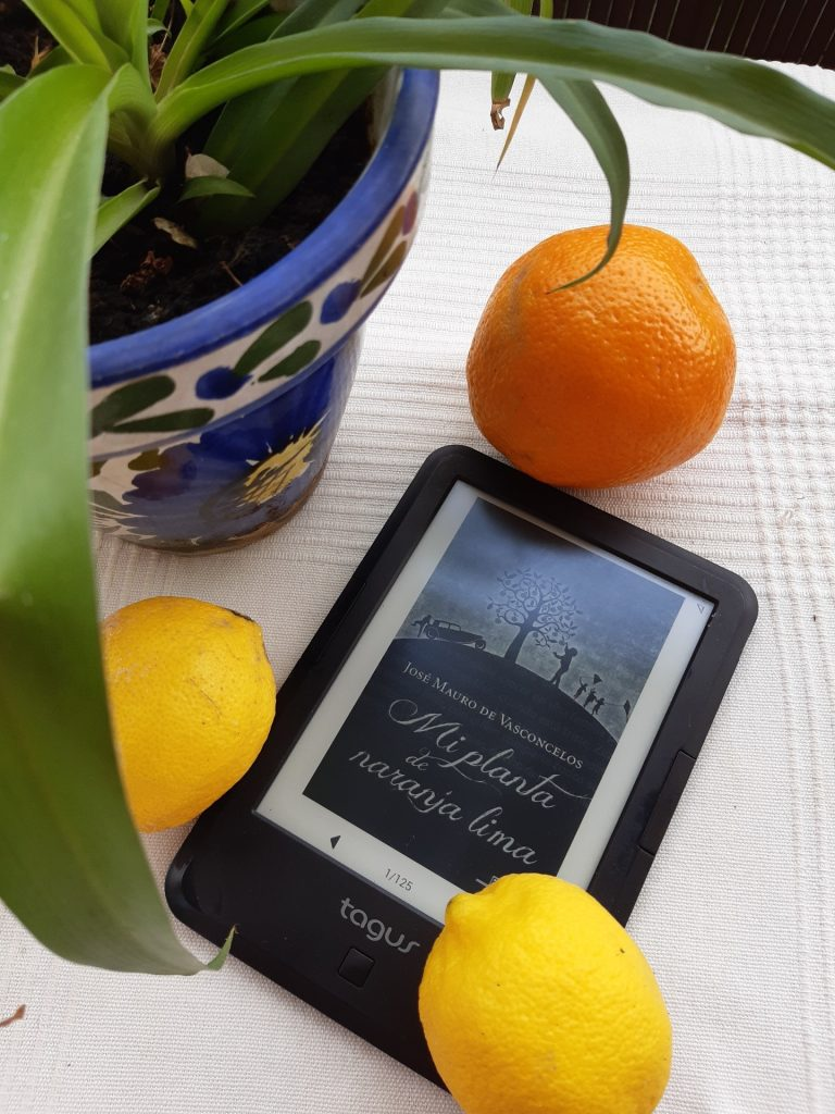 mi planta de naranja lima