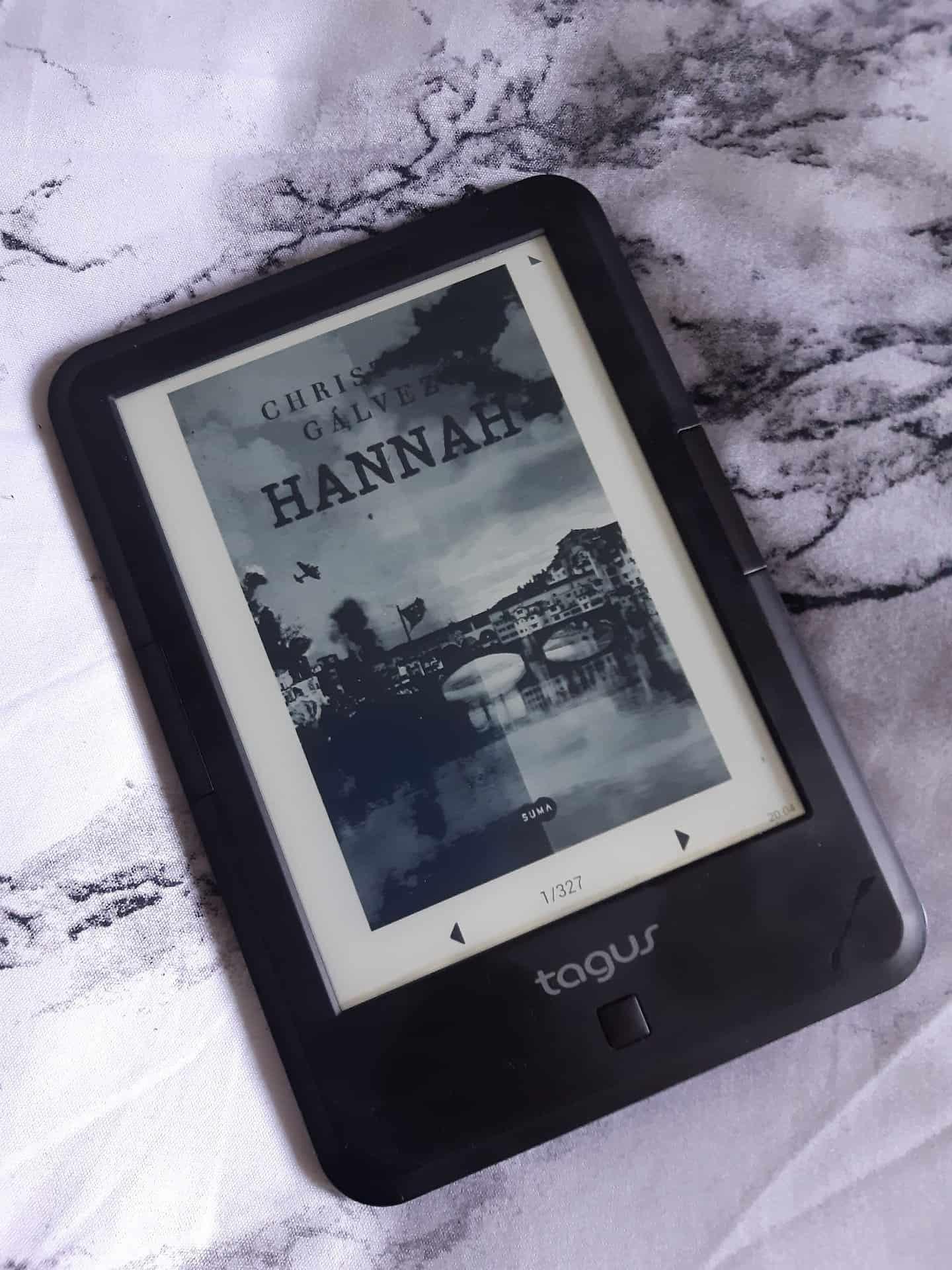 HANNAH, de Christian Gálvez