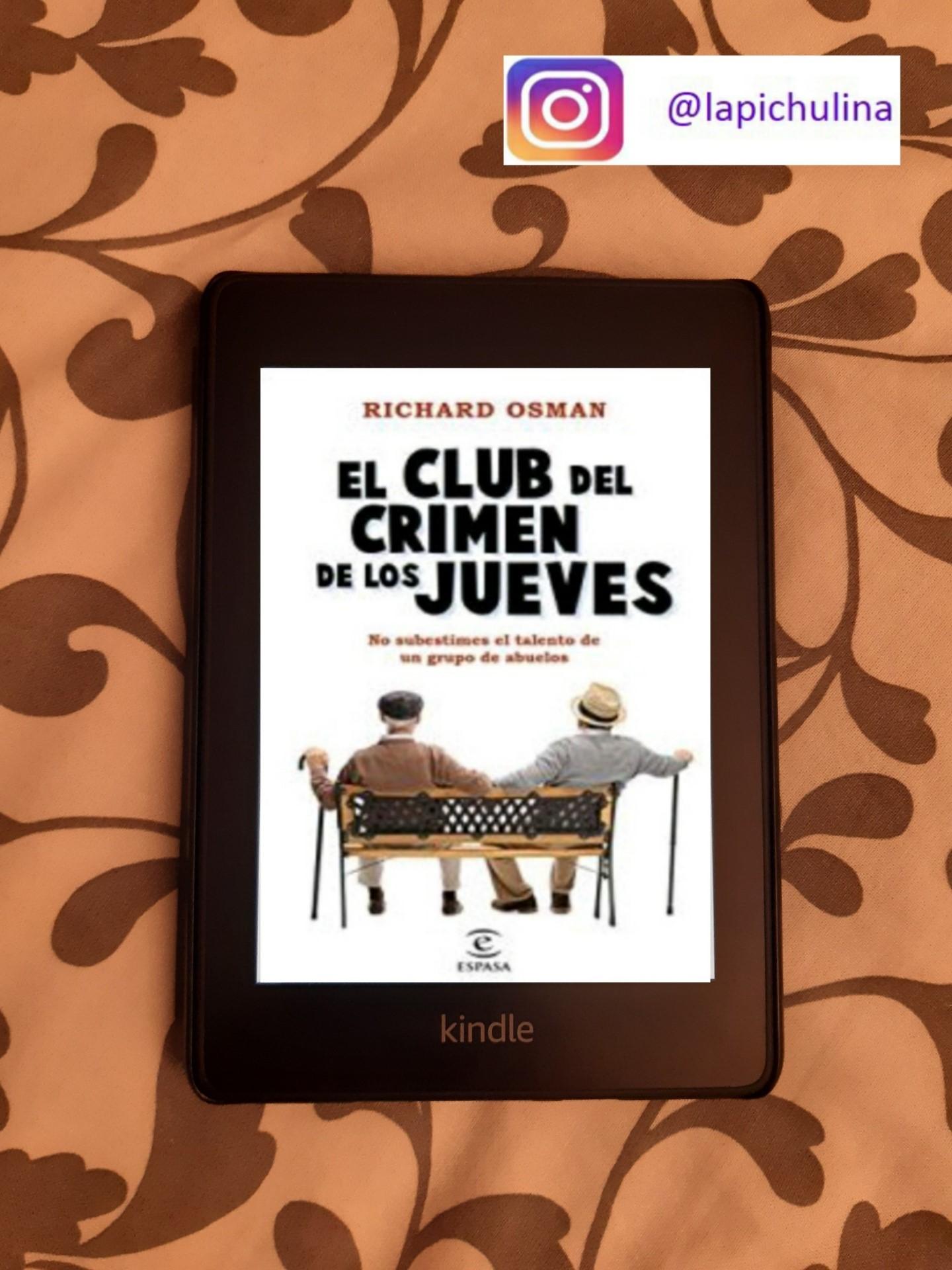 «EL CLUB DEL CRIMEN DE LOS JUEVES», de Richard Osman