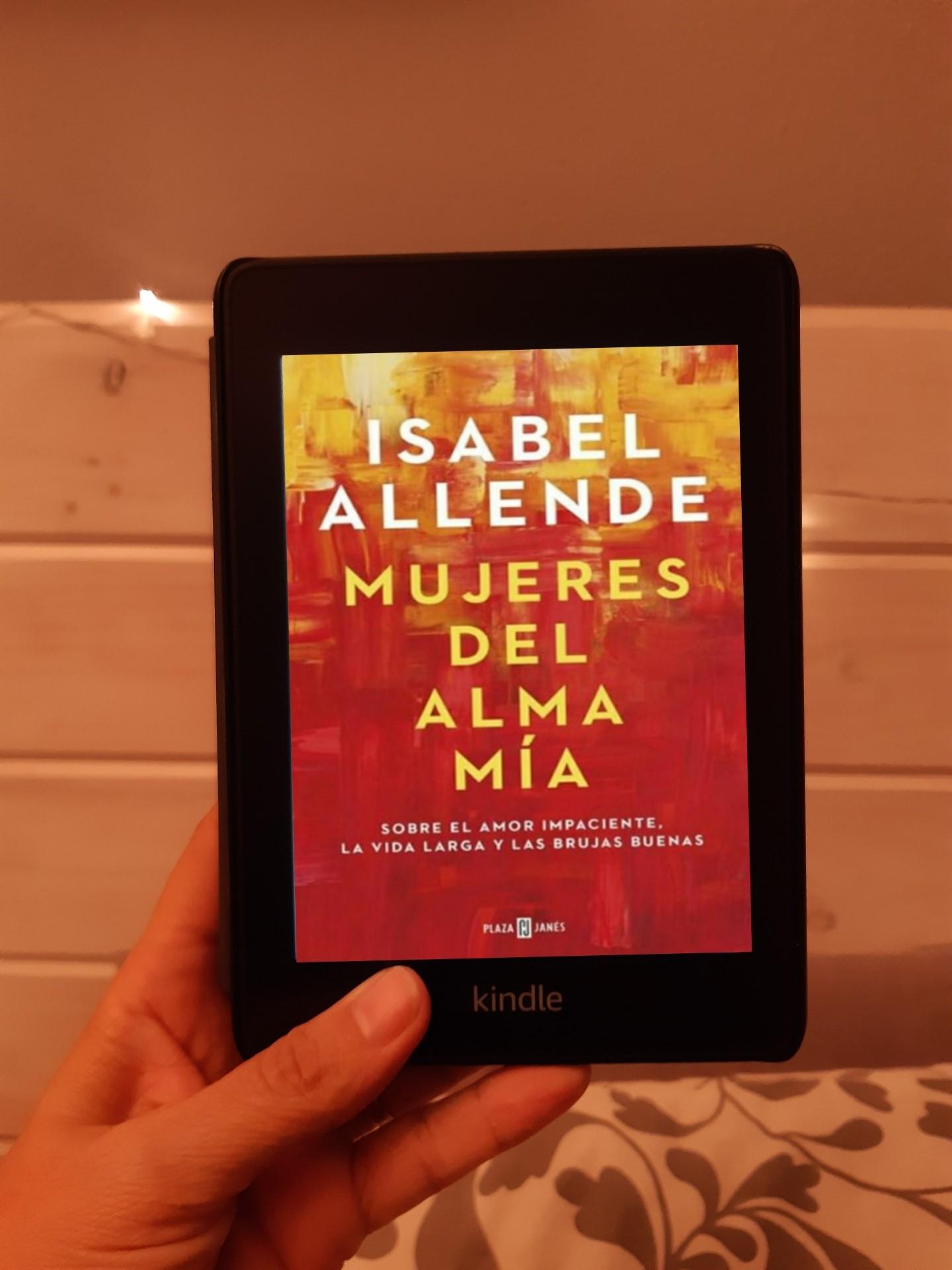«MUJERES DEL ALMA MIA», de Isabel Allende