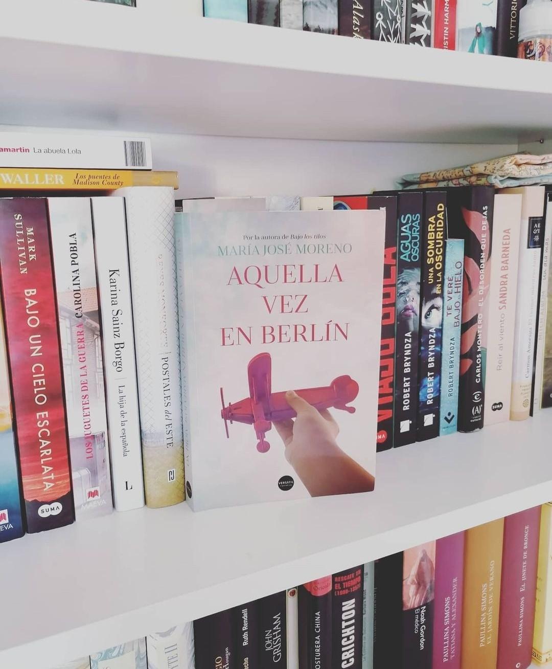 Aquella vez en Berlín, de M. José Moreno.