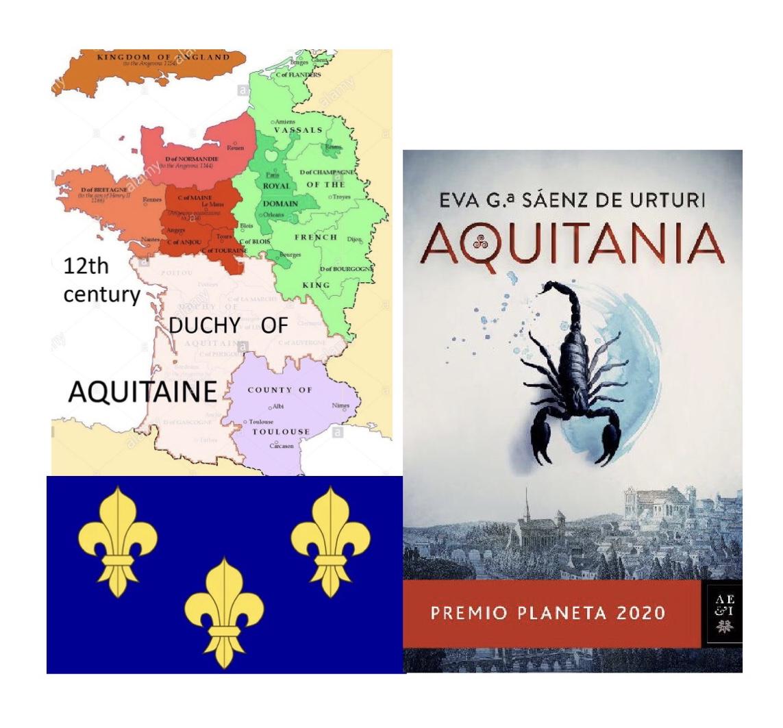 AQUITANIA, de Eva G.ª Sáenz de Urturi.