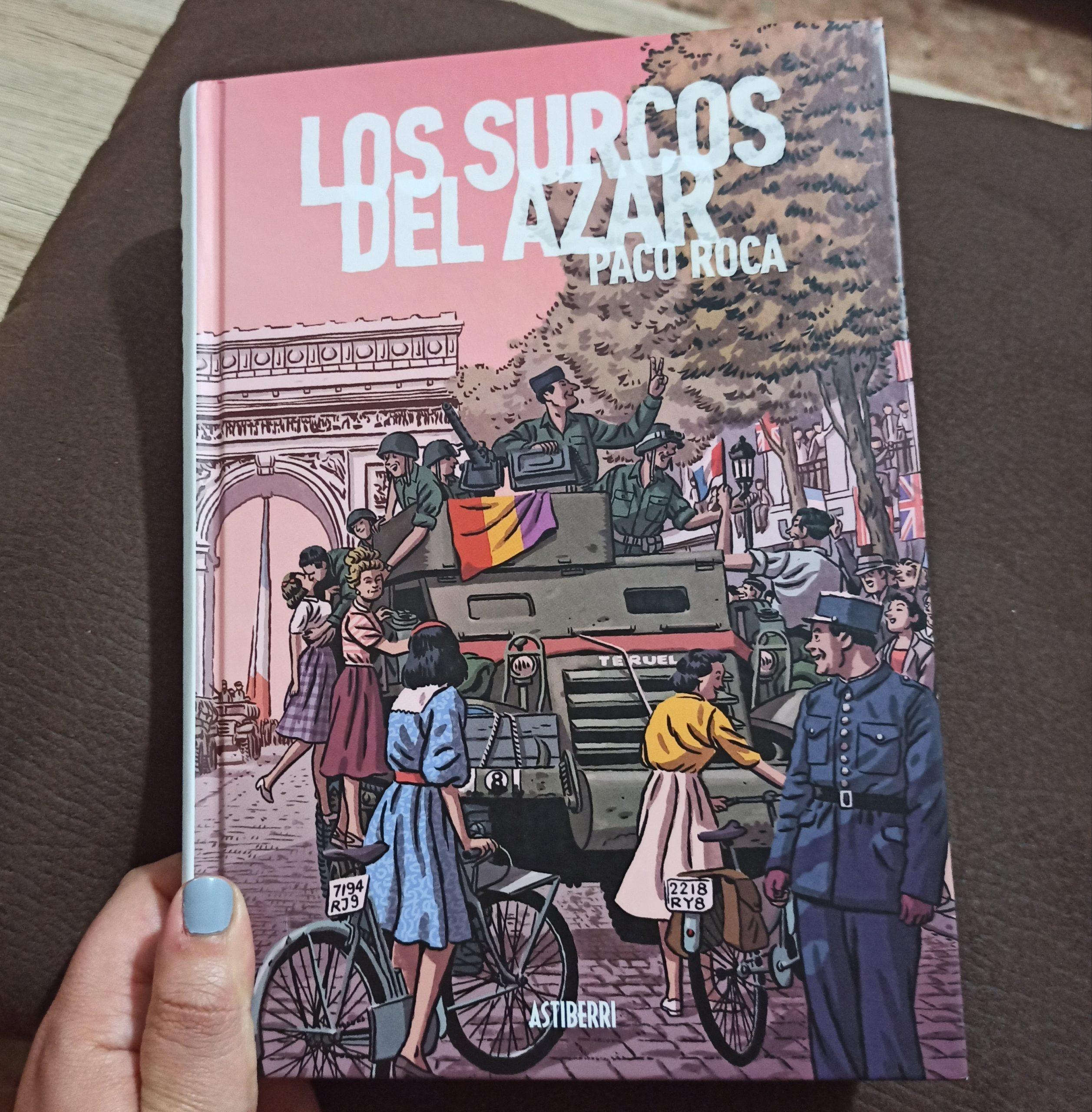 LOS SURCOS DEL AZAR, de Paco Roca.