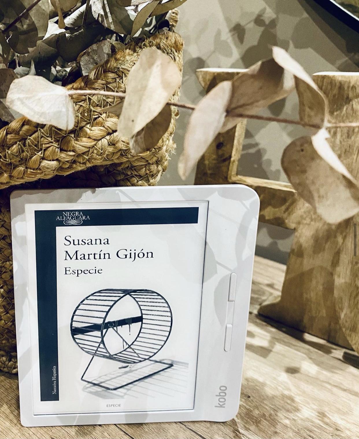 Especie de Susana Martín Gijón