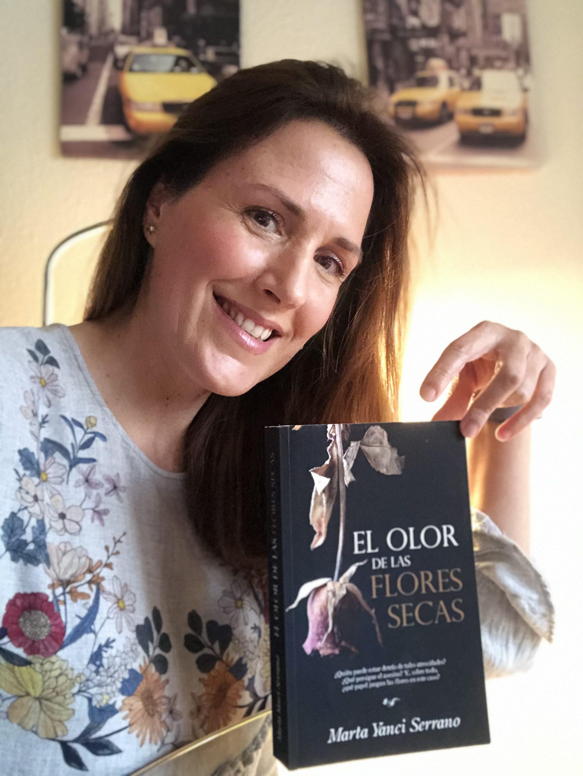 EL OLOR DE LAS FLORES SECAS de Marta Yanci Serrano.